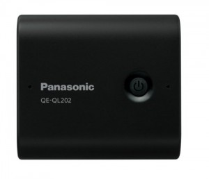 Panasonic モバイルバッテリー 5,800mAh USBモバイル電源 ブラック QE-QL202X-K