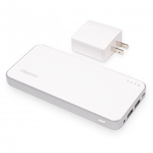 cheero Energy Plus 12000mAh マルチデバイス対応 大容量モバイルバッテリー