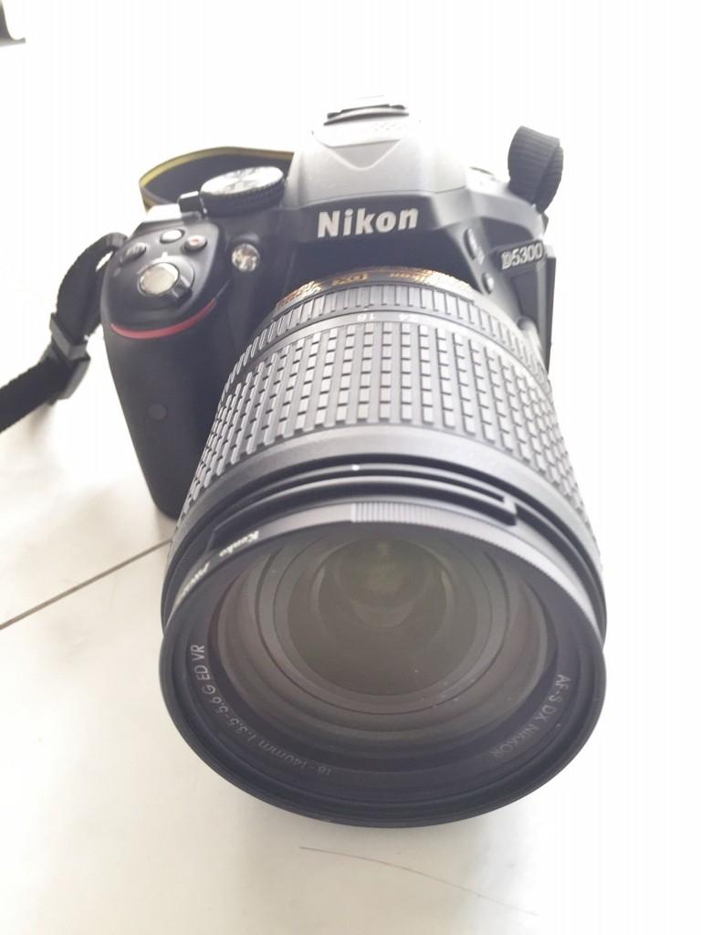 【Nikon D5300レビュー】女性でもなんとか使いこなせる所が魅力!!