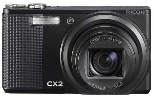 RICOH デジタルカメラ CX2 ブラック