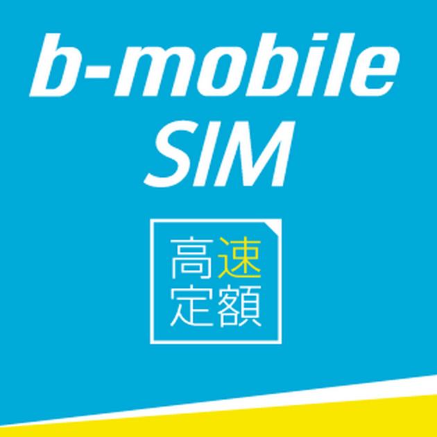 b-mobileの「スマホ電話SIMフリーData回線」を使用中