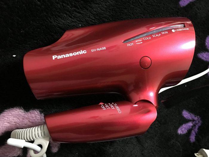 【レビュー】髪質改善を求めるなら、パナソニックのドライヤー「ナノケアEH-NA98」で決まり!