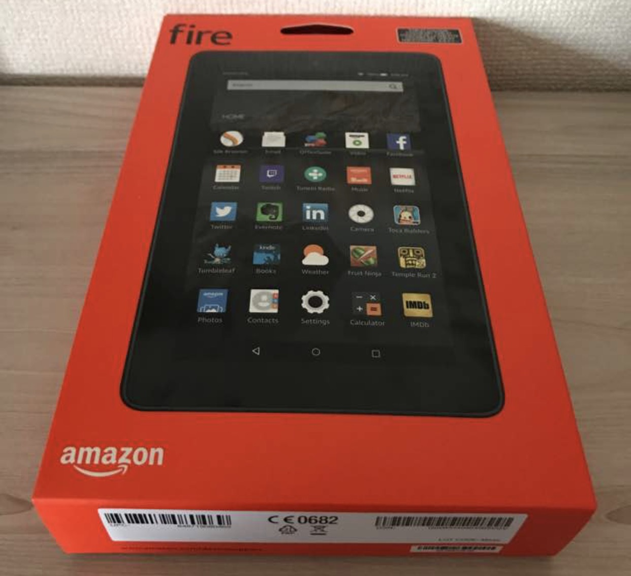 Amazonで購入したFireタブレットのレビューです
