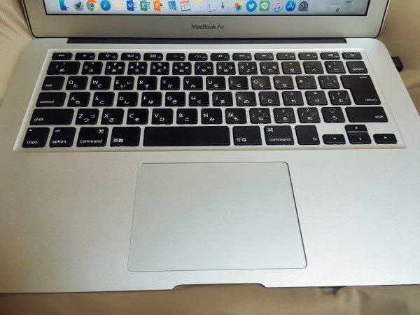 MacBook Airで作業効率自体は以前より格段に上がりました