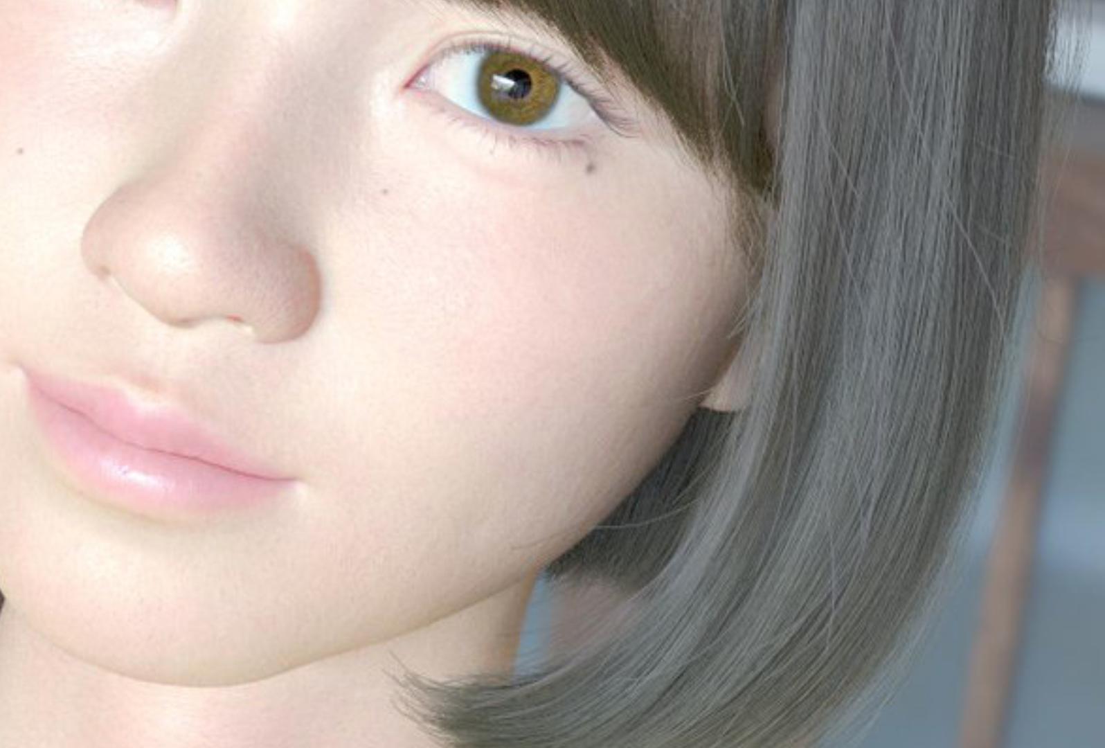 実物にしか見えないヴァーチャル女子高生「saya」が表情認識AIで進化したらしい