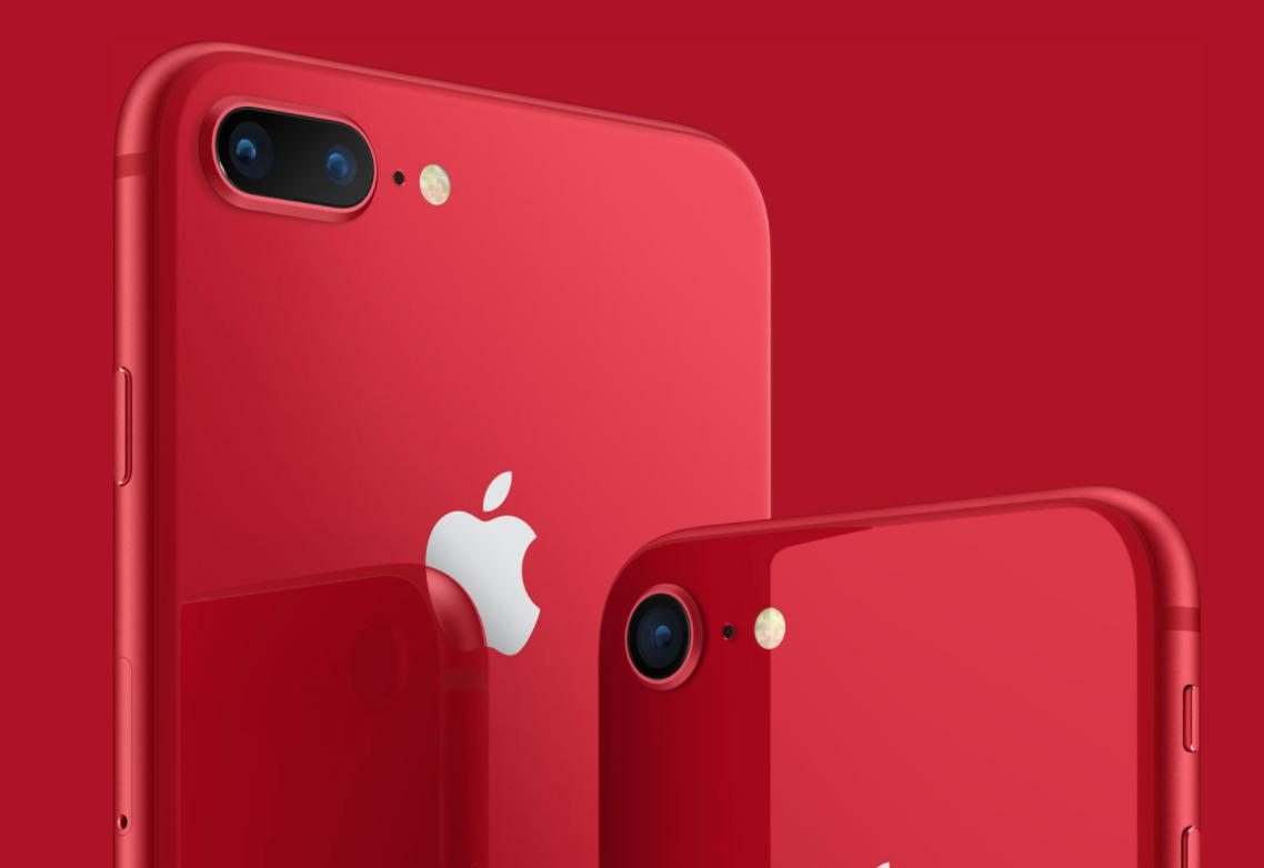 Iphone8新色の赤色が登場!Apple製品にはREDバージョンの製品が他にもあるよ!!