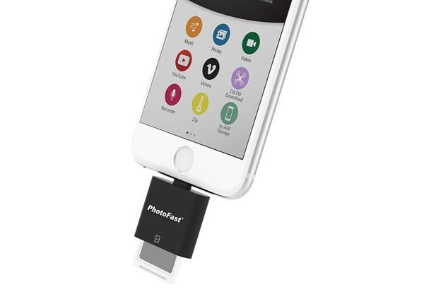 iPhoneXでも使えるSDカード「PhotoFast CR-8710+」が発売!