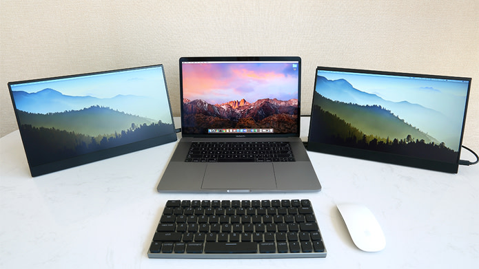 Macの外付けモニターとして「Vinpok Split」がスマートでカッコイイ!