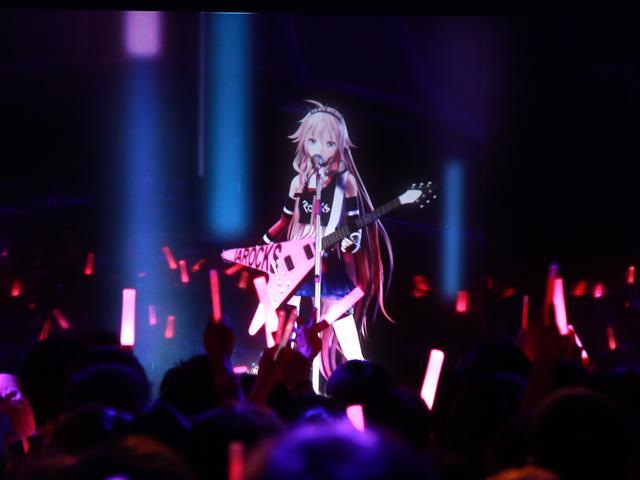 バーチャルアーティストIAのライブクオリティが高い!ホログラムライブ「ARIA」が始まる!