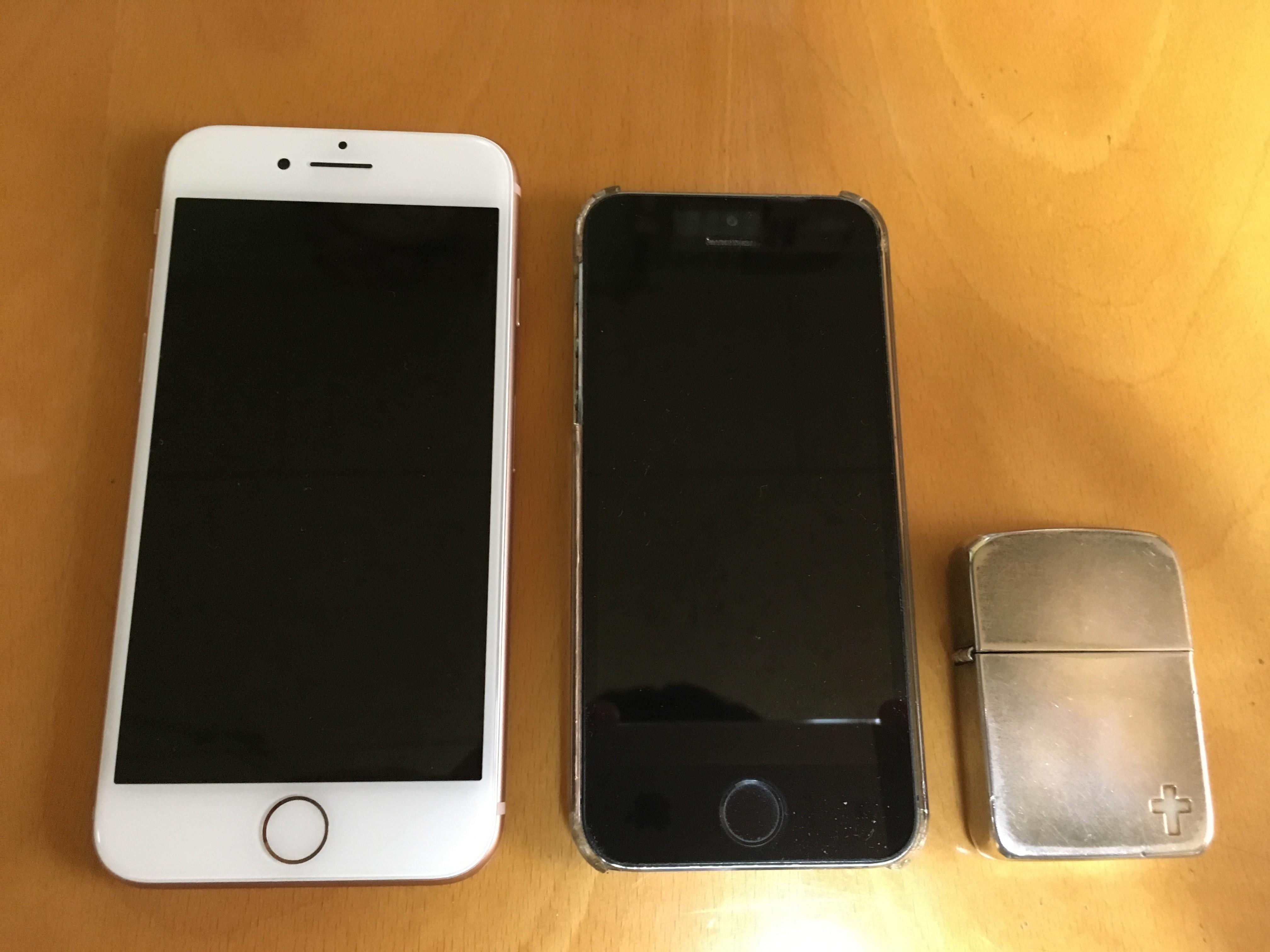 iPhone5s愛用者がiPhone8へ乗り換え。気になる使用感をレビュー!