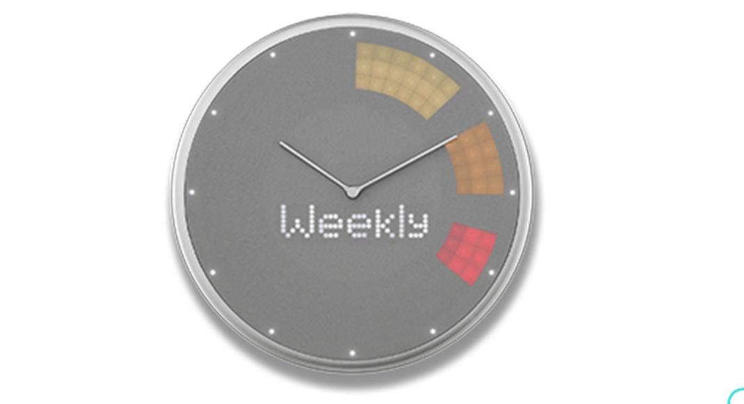 スマート掛け時計「Glance Clock」って何?