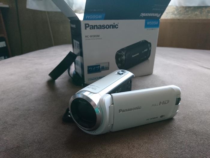 HC-W585Mレビュー!コストパフォーマンスに優れたビデオカメラです