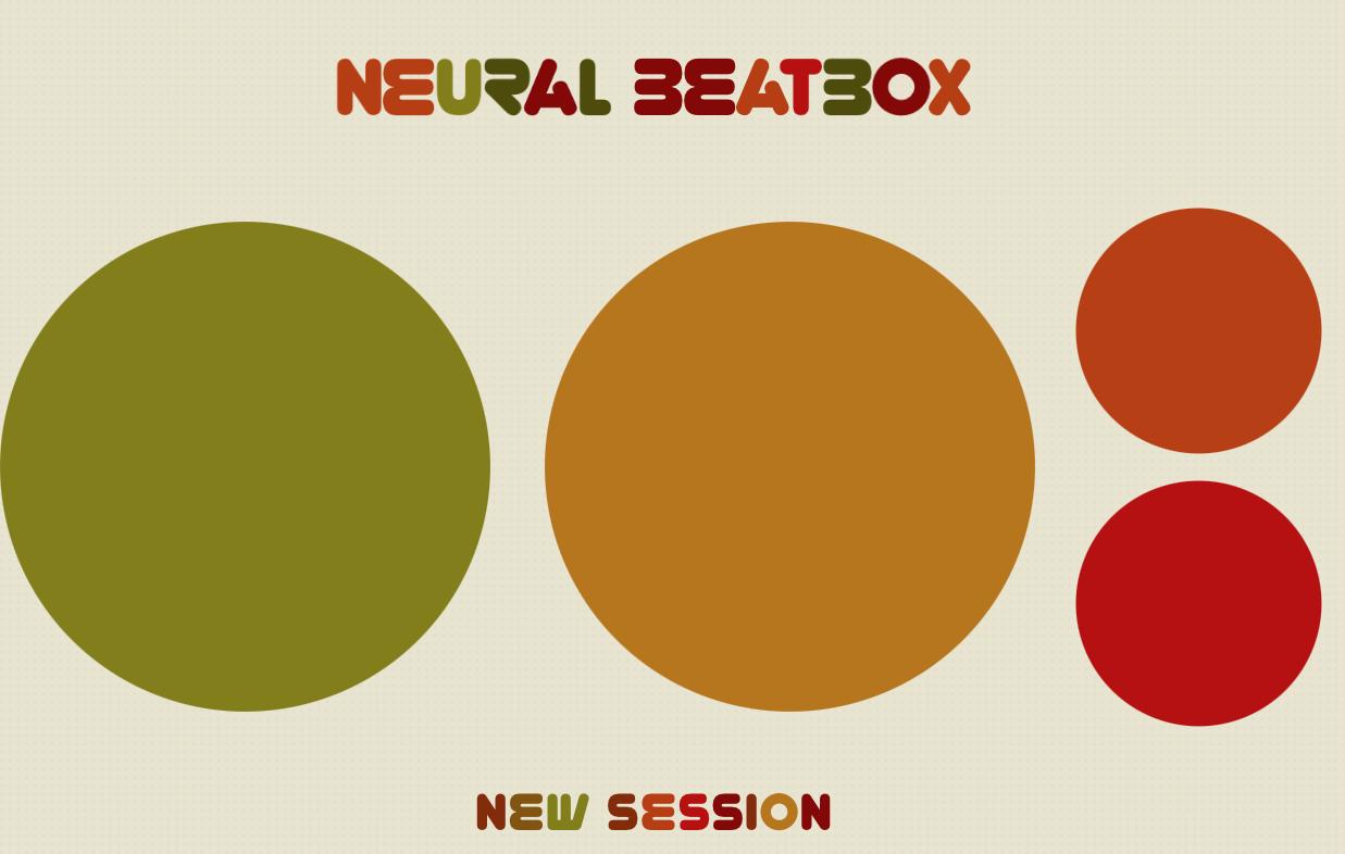 【Neural Beatbox】AIがヒューマンビートボックスを生成してくれる時代らしい