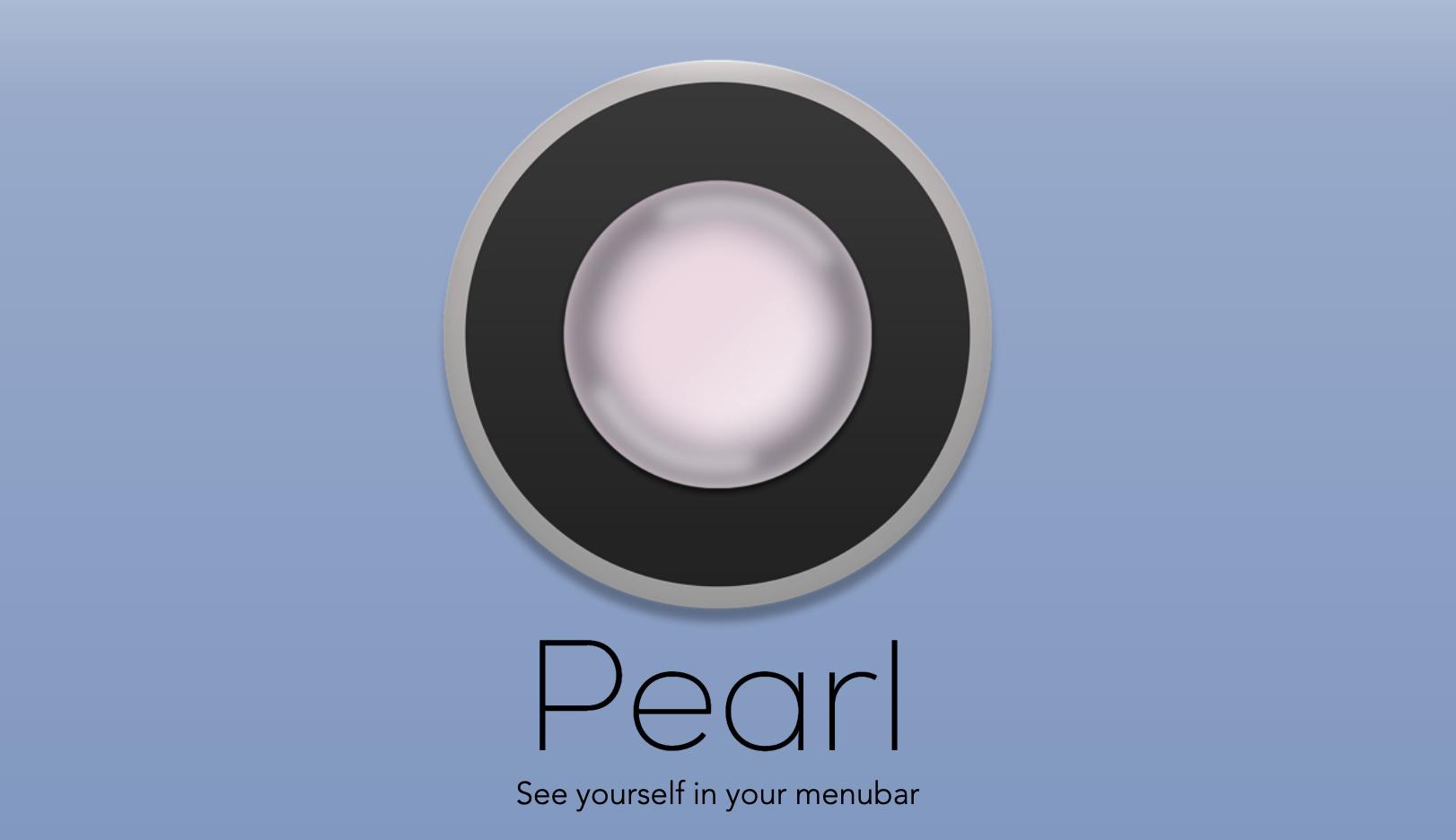 Macのカメラを鏡のように使うアプリPearl