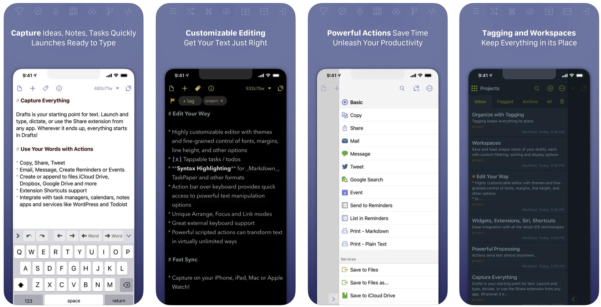 【Draftsの使い方】iPhoneメモ帳アプリのおすすめはDraftsかもしれない