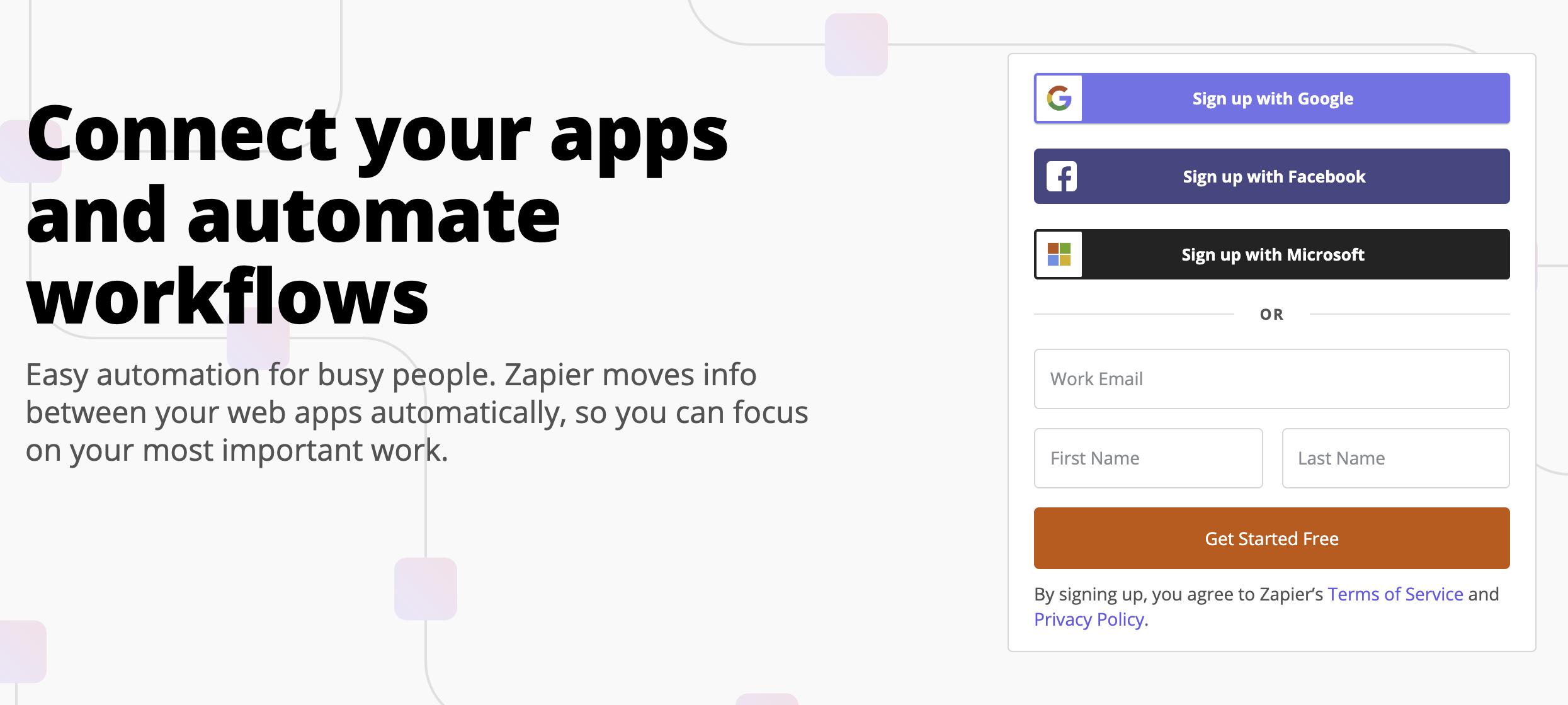 【業務自動化】Zapierの使い方を紹介!アプリを連携して効率よく作業しよう!