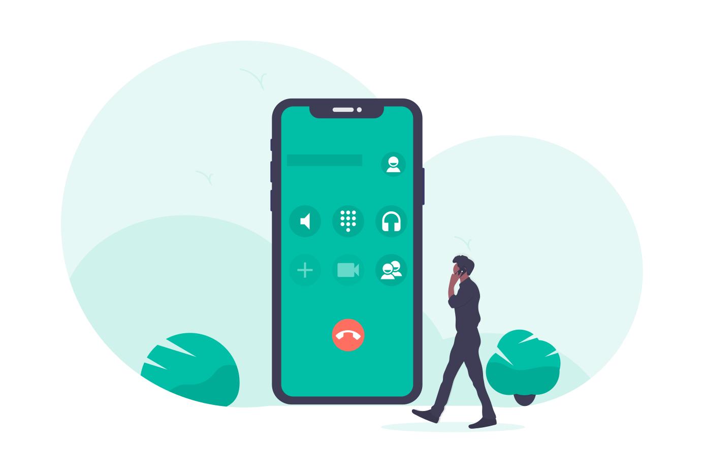 iPhoneでLINEの音声通話を録音する方法!標準機能の画面収録から録画!
